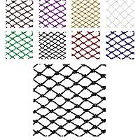 ブラックウッドランドカモフラージュネットサンシェードキャンプハンティング用ジャングルカモネット (Color : Rope net, Size : 3*9m)