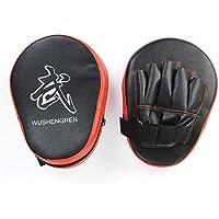 AYWS ボクシング 空手 格闘技 MMAトレーニングパッド パンチング ミット 左右1セット ボクシング 練習