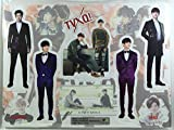 東方神起 (TVXQ)/ミニチュア 等身大パネル(卓上スタンドPOP/ミニパネル)セット - Standing Paper Doll(K-POP/韓国製)