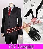 サイズによって可能!SX60Dウサギ耳と手袋付!僕SS 夏目残夏 スーツ 制服 コスプレ衣装 ウィッグも取り扱ってますよ
