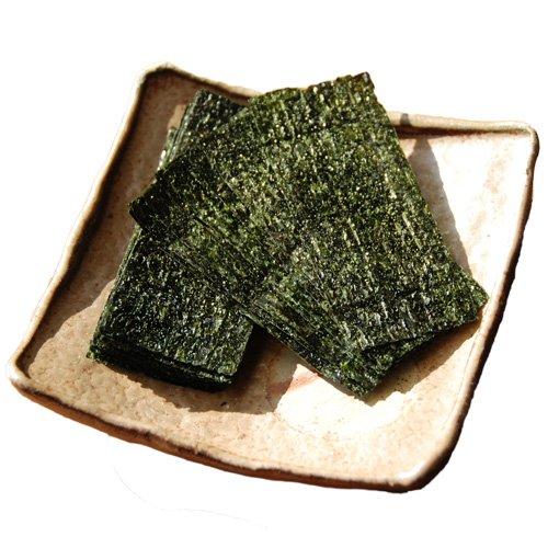 訳あり ツンとした清涼感 本わさび葉を使った自慢の 味付のり わさび風味 4パックセット各8切24枚入 デザ...