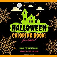 Halloween Coloring Book: Spooky Halloween Coloring Pages for Kids