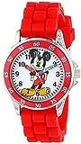 ディズニー・アナログウォッチ「ミッキーマウス(MK1239)」子供用 液晶腕時計 [並行輸入品]