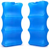 Breastmilk Ice Pack -Bottle Ice Packs for Breastfeeding Working Mom fit for Cans Bottles Breast Pump Bag Lunch Bags, 2pcs
