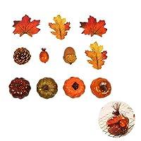 SUSUQI 人工カエデの葉 シミュレーション装飾 楓の葉 道具 秋 かわいい 装飾用品 贈り物