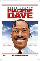 映画の金属看板 ティンサイン ポスター / Tin Sign Metal Poster of Movie Meet Dave #7