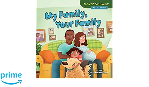 amazon my family your family cloverleaf books alike and