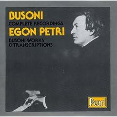 Busoni Complete Recording Egon Petriの商品写真