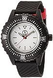 [キューアンドキュー スマイルソーラー]Q&Q SmileSolar 腕時計 20BAR シリーズ ホワイト × ブラック RP06-005 メンズ
