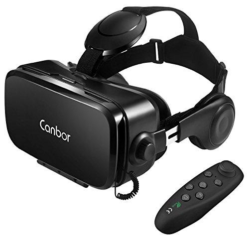 Canbor VR ゴーグル VRヘッドセット メガネ 3D ゲーム 映画 ...