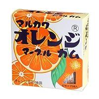 丸川製菓ビッグサイズ オレンジマーブルガム ★ケース販売(5箱)★