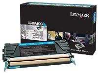 Lexmark - Cyan - original - toner cartridge - for C746dn, 746dtn, 746n, 748de, 748dte, 748e