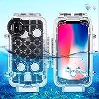 Kasitek 防水 カバー コンサイス 無地耐 耐腐食性 実用電話 ケース 対応IPhone