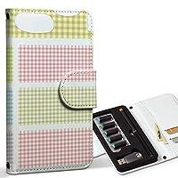 スマコレ ploom TECH プルームテック 専用 レザーケース 手帳型 タバコ ケース カバー 合皮 ケース カバー 収納 プルームケース デザイン 革 チェック ピンク シンプル 009232