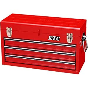 KTC (京都機械工具) チェスト (3段3引出し) ソリッドレッド SKX0213