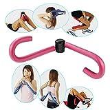 ダイエット器具 トレーニング男女兼用 内もも簡単エクササイズ ウエスト 大腿筋 内転筋 (ピンク)