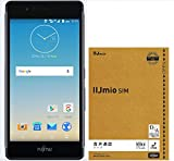 【Amazon.co.jp 限定】arrows M03(ブラック)【IIJmio みおふぉん SIMカード 音声通話パック付】 FARM06102-BLK-BUN