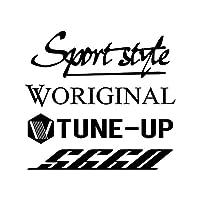 Sport style mix S660 カッティング ステッカー ブラック 黒
