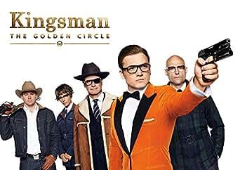 映画 キングスマン : ゴールデン サークル ポスター 42x30cm Kingsman: The Golden Circle コリン・ファース マーク・ストロング タロン・エガートン チャニング・テイタム ハル・ベリー [並行輸入品]