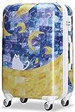 (ラッキーパンダ) Luckypanda スーツケース 超軽量 m TSAロック MS017-IS キャリーバッグ 軽量 キャリーケース かわいい キャリーバック ファスナー ハード バッグ バック 旅行かばん Suitcase Luggage amazon (M(4~6日の旅行向け), MS017-IS-W3)