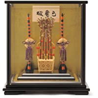 破魔弓 正月飾り ケース飾り 伯峰作 7号 h251-ak-132085-07