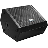 Seismic Audio - SAX-15M - Compact 15 Inch 2-Way Coaxial Floor/Stage Monitor with Titanium Horn - 300 Watts RMS - PA/DJ Stage Studio Live Sound 15 Inch Monitor [並行輸入品]