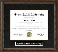Texas A & M University ( Tamu )卒業証書フレーム tx-tamu-91-burl