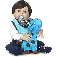 SanyDoll Rebornベビー人形ソフトSilicone 22インチ55 cm磁気Lovely Lifelike Cute Lovely Baby b0763lp9kk