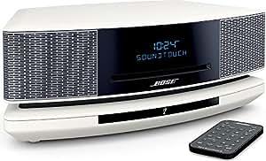 Bose Wave SoundTouch music system IV パーソナルオーディオシステム Bluetooth・Wi-Fi対応 アークティックホワイト WST IV AW【国内正規品】