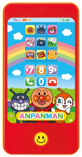 アンパンマン タッチして!カラースマートフォン