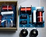 2WAY クロスオーバーネットワーク(パッシブ・ネットワーク)ATT付属 2セット組   2000Hzクロス 12?/oct 耐入力400W