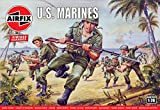 エアフィックス 1/76 第二次世界大戦 アメリカ海兵隊 プラモデル X-0716V