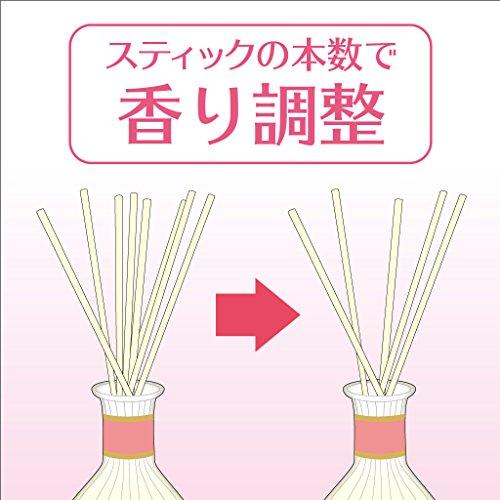 『サワデー香るスティック日比谷花壇セレクト 消臭芳香剤 詰め替え用 イングリッシュガーデン 70ml』の3枚目の画像