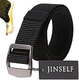 ターミガン ブラック JINSELF S級永久ベルト 純正ナイロン100% 合金バックル ミリタリー 自衛隊 サバゲー 装備 作業 作業着 メンズ ブラック