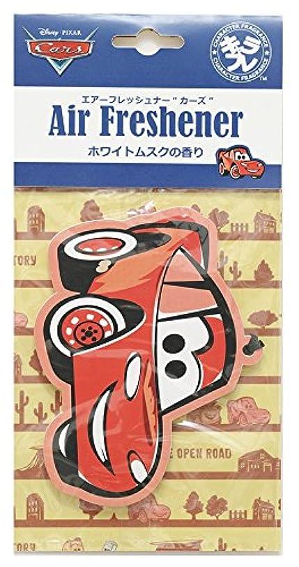 つかの間タッチ麦芽ディズニー エアーフレッシュナー カーズ 吊り下げ ホワイトムスクの香り DIP-94-01