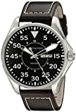 Hamilton ハミルトン メンズ 時計 腕時計 Men's H64611535 Khaki King Black Dial Watch