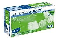 セミガードガードニトリルXテンション使い捨て手袋、小 - 100個入り