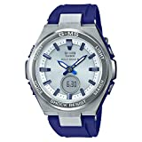 [カシオ] 腕時計 ベビージー 世界6局対応電波ソーラー MSG-W200-2AJF レディース ブルー
