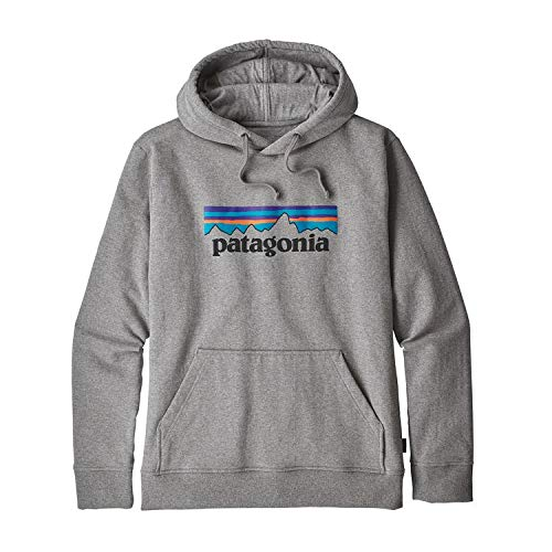 パタゴニア メンズ P-6ロゴ アップライザル フーディ グ...