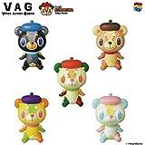 VAG12 くまのくまくま Bear is KUMAKUMA 全5種 ひかりバンビ VinyL ARtiSt GaCHa メディコム・トイ