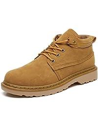 MXSPORT メンズ ブーツ マウンテン靴 防滑 アウト カジュアルシューズ ドア ワークブーツメンズシューズ スエード ブーツ ショートブーツ デッキシューズ ツーリングブーツ紳士ブーツ