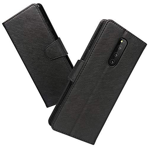 Xperia 1 ケース 手帳型 QI充電対応 スマホケース Xperia1 横置き機能 Arae カードポケット付き ソニー エ...