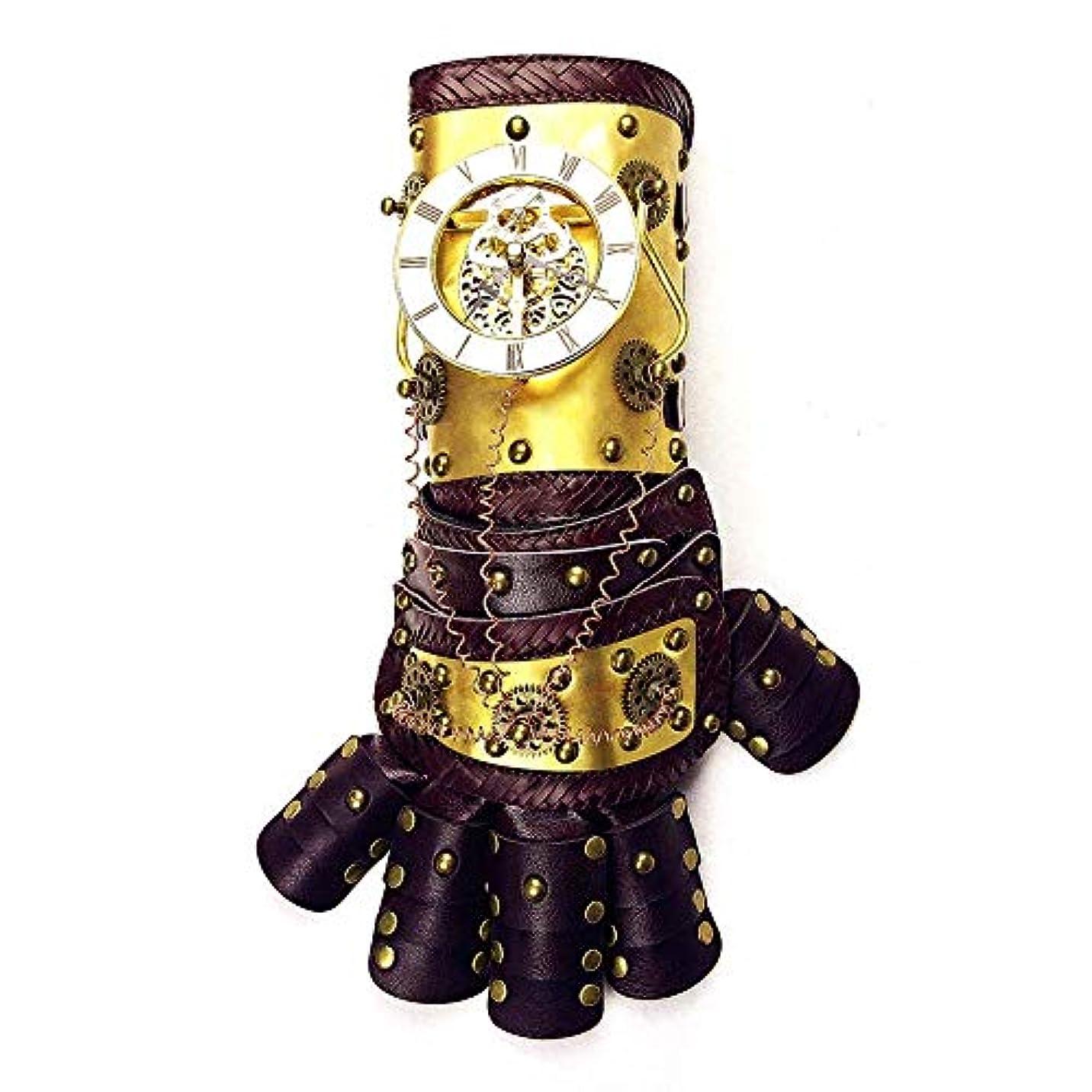 反毒モナリザ役に立たないETH スチームパンク機械式アーム手袋*長い一日のダンスパーティーの小道具37cmの* 13.5CM高い広い13CMをリンク 適用されます