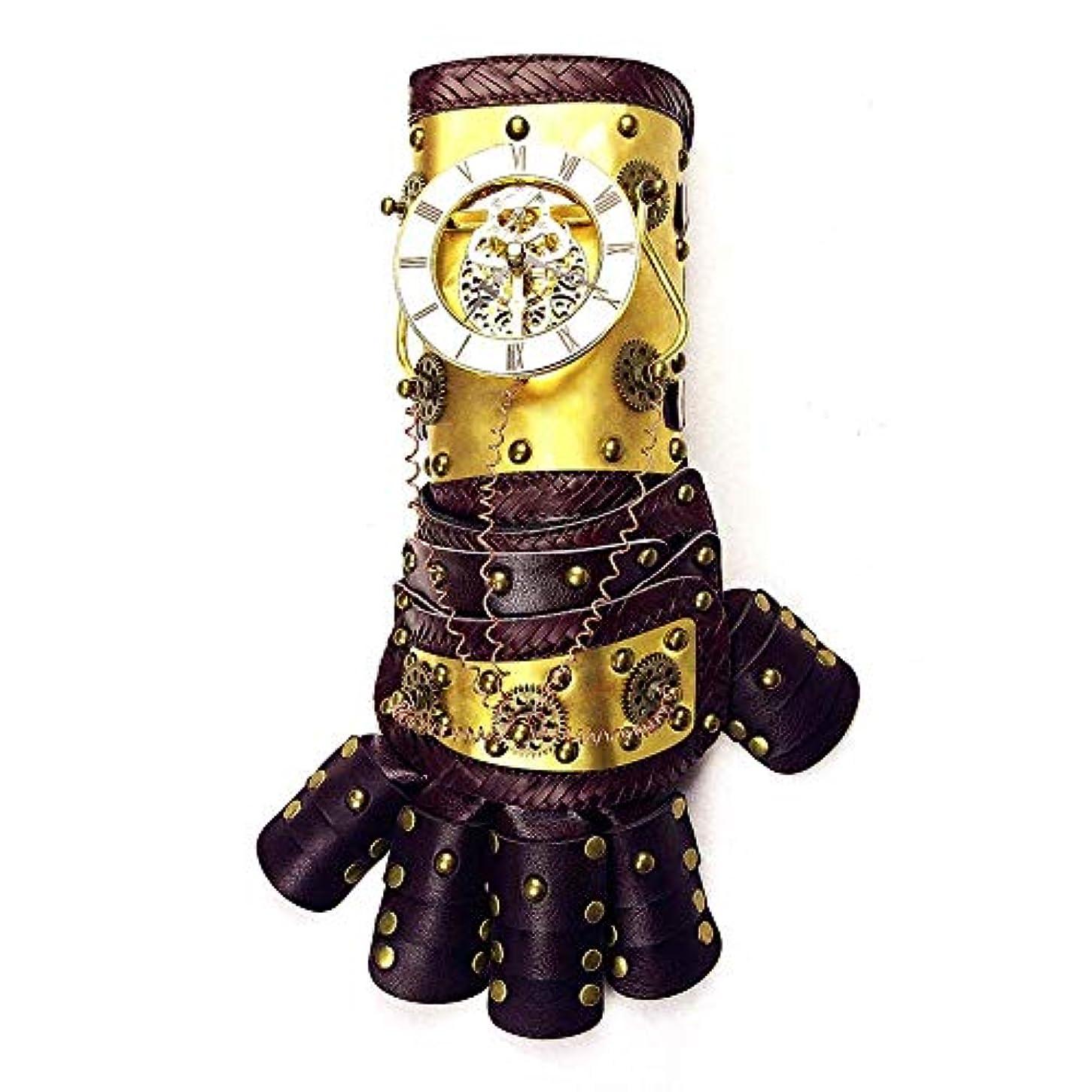フェザー終わり記念碑的なETH スチームパンク機械式アーム手袋*長い一日のダンスパーティーの小道具37cmの* 13.5CM高い広い13CMをリンク 適用されます