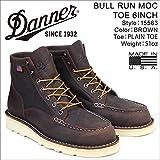 ダナー ブーツ BULL RUN MOC TOE 6INCH 15563 メンズ ブラウン US8.0-26.0 (並行輸入品)
