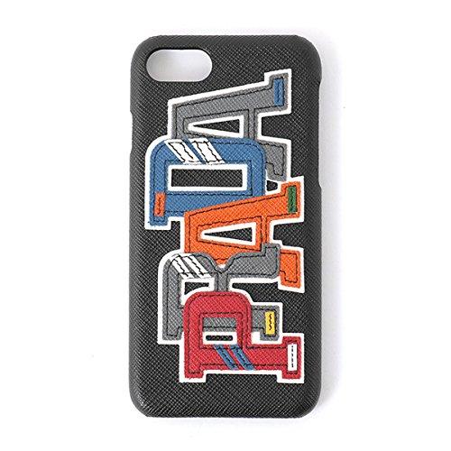 PRADA プラダ 2ZH035 2EC4 F0SGI SAFFIANO CHARAC iPhone7専用ケース 携帯 スマホケース スマートフォン カバー カラーNERO-M メンズ NERO-M/ブラック他 [並行輸入品]