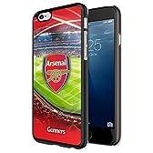 【 Arsenal FC / アーセナル 】 海外オフィシャル商品 iPhone6 / iPhone6s (4.7インチ) 3Dハードケース 液晶保護フィルム付 [並行輸入品]