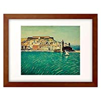 アルベール・マルケ Marquet, Albert 「Blick auf Collioure.」 額装アート作品