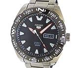 セイコー 5スポーツ メカニカル メンズ腕時計 SS 自動巻き ブラック文字盤 [中古]