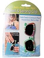 Boca Towel & Sarong Clip (Green Sunglasses) by Boca [並行輸入品]